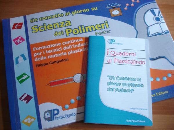 Un concetto al giorno di Scienza dei Polimeri – 2 Libri in offerta